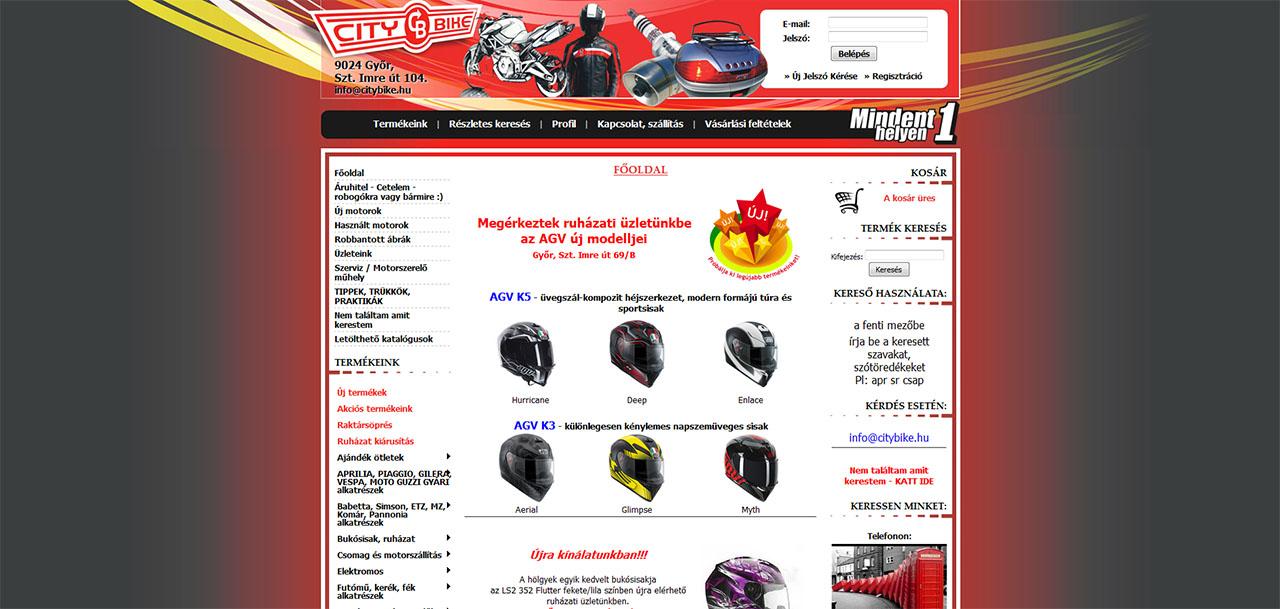 47a2b0348d Mi a véleményed a City Bike motoros boltról?
