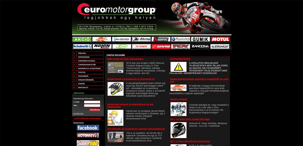 bb073e0e0a Mi a véleményed az Euromotor motoros boltról?