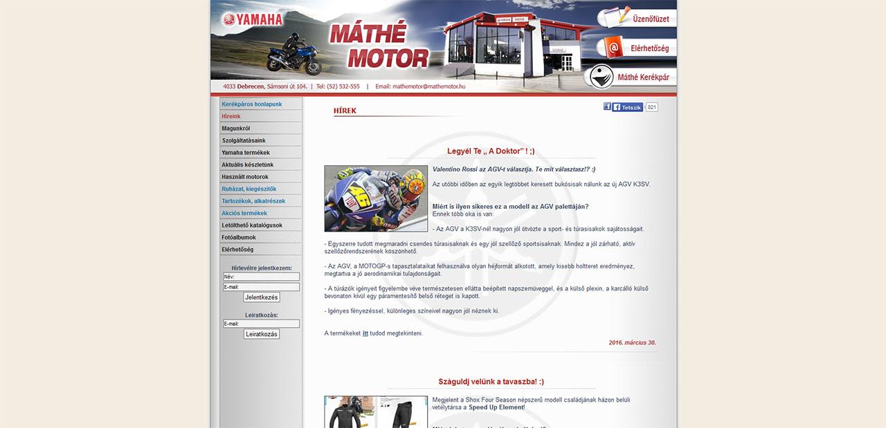 bd597eff6a Mi a véleményed a Máthé Motor motoros boltról?